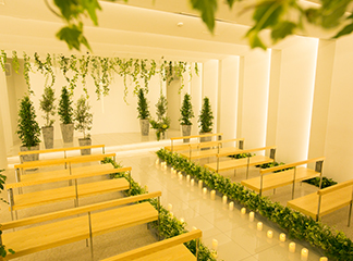 Ceremony Space / 挙式(2F)